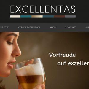 Exzellenter Kaffee von Excellentas / Specialty Coffee / Spezialitätenkaffe
