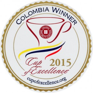 Cup of Excellence Gewinner Kolumbien / Excellentas / exzellenter Kaffee / Specialty Coffee / Spezialitätenkaffe