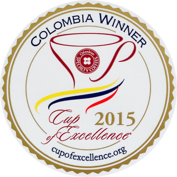 Cup of Excellence Gewinner Kolumbien / Excellentas / exzellenter Kaffee / Specialty Coffee / Spezialitätenkaffe