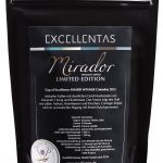 Exzellenter Kaffee MIRADOR limited edition Cup of Excellence Gewinner 2015 Kolumbien