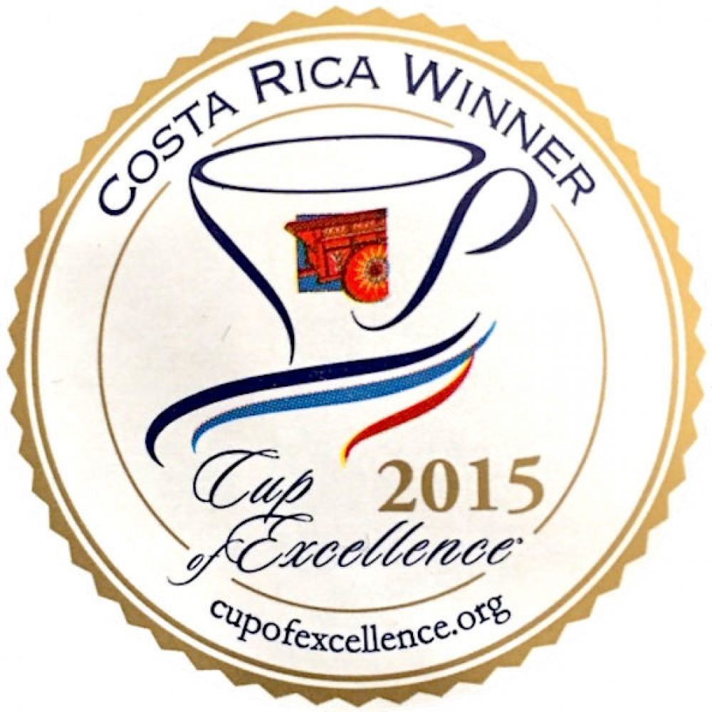 Cup of Excellence Gewinner Costa Rica 2015 - exzellenter Kaffee von EXCELLENTAS
