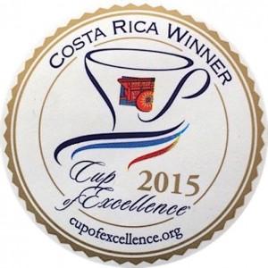 Cup of Excellence Gewinner Costa Rica 2015 - exzellenter Kaffee von EXCELLENTAS