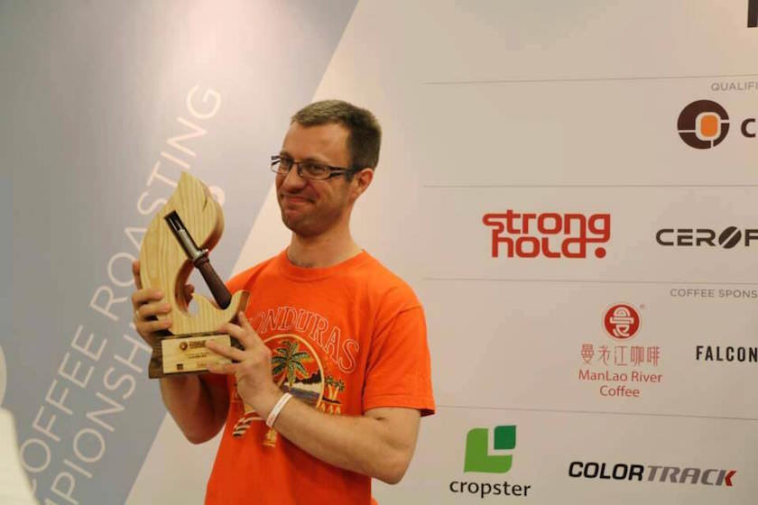 Audun Sørbotten - World Coffee Roasting Champion 2015 - Weltmeister im Kaffeerösten - Norwegian Roast