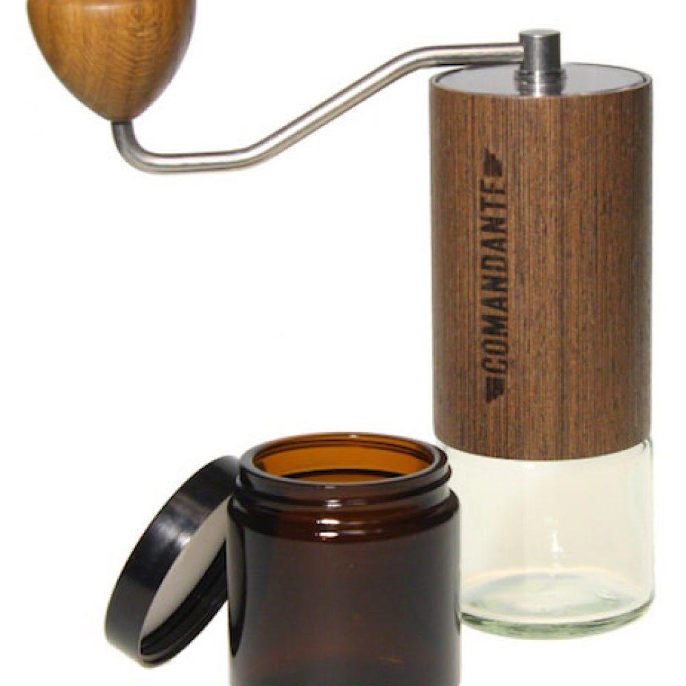 Comandante C40 MK3 Nitro Blade Holz Wood Veneer Hand Kaffeemuehle bester gourmet Kaffee