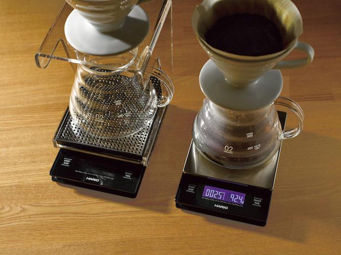 HARIO V60 Metal Drip Scale Waage VSTM-2000 HSV Excellentas bester Kaffee