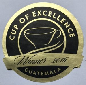 Award Winner Guatemala Cup of Excellence Gewinner Guatemala